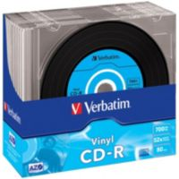 CD-R VERBATIM CD-R Data Vinyl 700MB 10PK