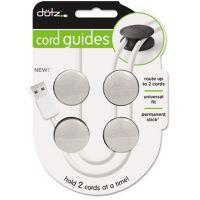 Serre-câble DOTZ pour 2 câbles Blanc