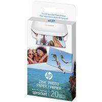 Papier HP 20 feuilles ZINK pour Sprocket