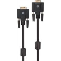 Câble HP VGA / VGA 3m Noir