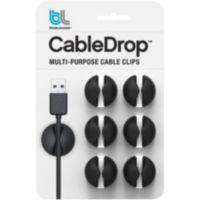 Serre-câble BLUELOUNGE CableDrop noir Pa