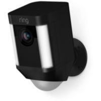 Caméra RING Caméra Spotlight noire sur b