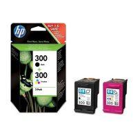 Pack HP N°300 noire + couleurs