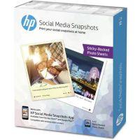 Papier HP W2G60A-10x13cm-25f-265g/m² Sna