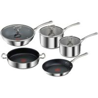 Set TEFAL Reserve collection inox 5 pcs