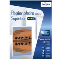 Papier AVERY 60 Photos brillantes 10x15