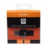 Lecteur D2 SD micro SD port micro USB 3.