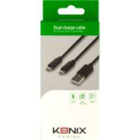 ACC. KONIX Câble Double pour Manette Xbo