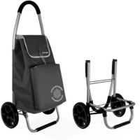 Chariot YOKO isotherme pliable noire ave