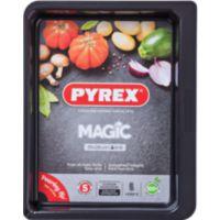 Plat à four PYREX rect métal 35x26 cm Ma