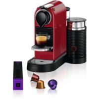 Nespresso KRUPS CITIZ & MILK ROUGE YY411