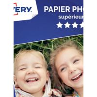 Papier AVERY 50 Photos brillantes 10x15