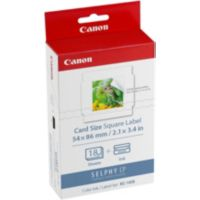 Kit CANON KC18IS 18 stickers 54x54mm Sel