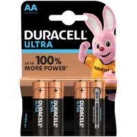 Pile DURACELL AA x4 Ultra Power LR06