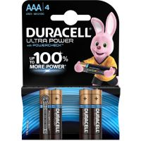 Pile DURACELL AAA x4 Ultra Power LR03