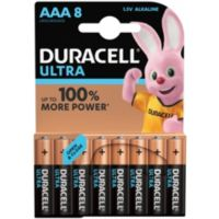 Pile DURACELL AAA x8 Ultra Power LR03