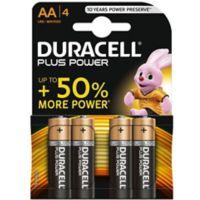 Pile DURACELL AA x4 Plus Power LR06