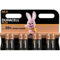 Pile DURACELL AA x8 Plus Power LR06