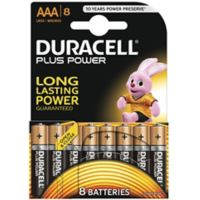 Pile DURACELL AAA x8 Plus Power LR03