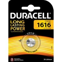 Pile DURACELL 1616 X1
