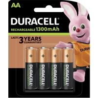 Piles rechargea DURACELL Plus Power 4 x