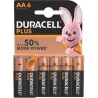 Pile DURACELL AA x6 Plus LR06