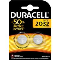 Pile DURACELL Lithium SPE 2032 - 2 Piles