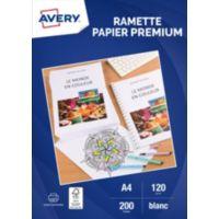 Papier AVERY 200 Feuilles de papier prem