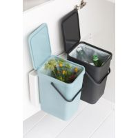 Poubelle BRABANTIA Built-in Bin Sort & G