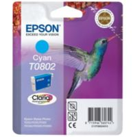 Cartouche EPSON T0802 Cyan série Colibri
