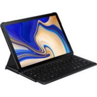 Clavier SAMSUNG Book cover Noir Tab S4
